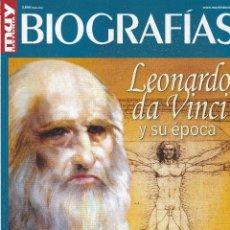 Coleccionismo de Revista Muy Interesante: REVISTA MUY HISTORIA. BIOGRAFIAS: LEONARDO DA VINCI Y SU EPOCA. Lote 211754137
