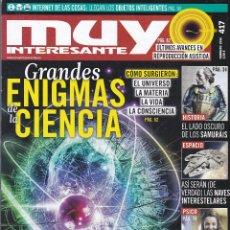 Coleccionismo de Revista Muy Interesante: MUY INTERESANTE: GRANDES ENIGMAS DE LA CIENCIA. Lote 211900453