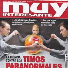 Coleccionismo de Revista Muy Interesante: MUY INTERESANTE: LA CIENCIA CONTRA LOS TIMOS PARANORMALES. Lote 211903040