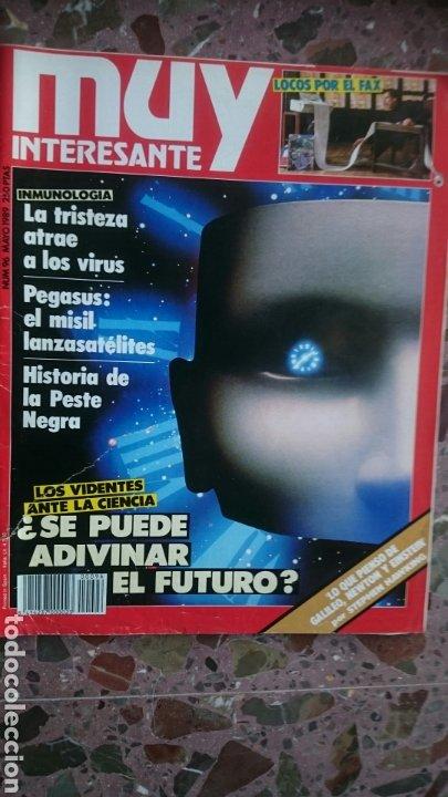 REVISTA MUY INTERESANTE NÚMERO 96, AÑO 1989, TIENE RAJA EN LA PORTADA, VER FOTO (Coleccionismo - Revistas y Periódicos Modernos (a partir de 1.940) - Revista Muy Interesante)