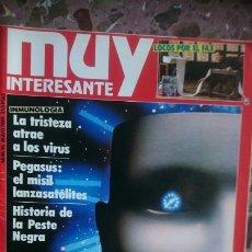Coleccionismo de Revista Muy Interesante: REVISTA MUY INTERESANTE NÚMERO 96, AÑO 1989, TIENE RAJA EN LA PORTADA, VER FOTO. Lote 211920278