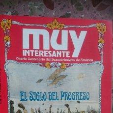 Coleccionismo de Revista Muy Interesante: REVISTA MUY INTERESANTE SUPLEMENTO PUBLICADO JUNTO AL NÚMERO 125 EL SIGLO DEL PROGRESO. Lote 211921790