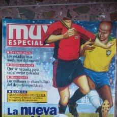 Coleccionismo de Revista Muy Interesante: REVISTA MUY INTERESANTE SUPLEMENTO MUY ESPECIAL NÚMERO 35, AÑO 1998 LA NUEVA PASION POR EL FUTBOL. Lote 211921936