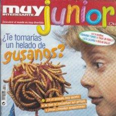 Coleccionismo de Revista Muy Interesante: MUY INTERESANTE JUNIOR : TE TOMARIAS UN HELADO DE GUSANOS.. Lote 211993626