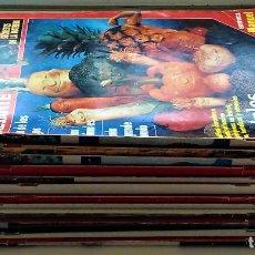 Coleccionismo de Revista Muy Interesante: REVISTA MUY INTERESANTE - 12 NÚMEROS. Lote 213083693