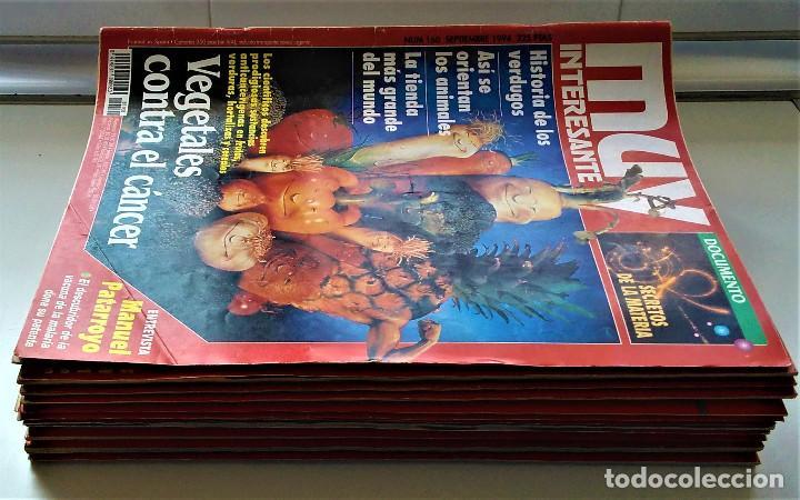 Coleccionismo de Revista Muy Interesante: REVISTA MUY INTERESANTE - 12 NÚMEROS - Foto 2 - 213083693