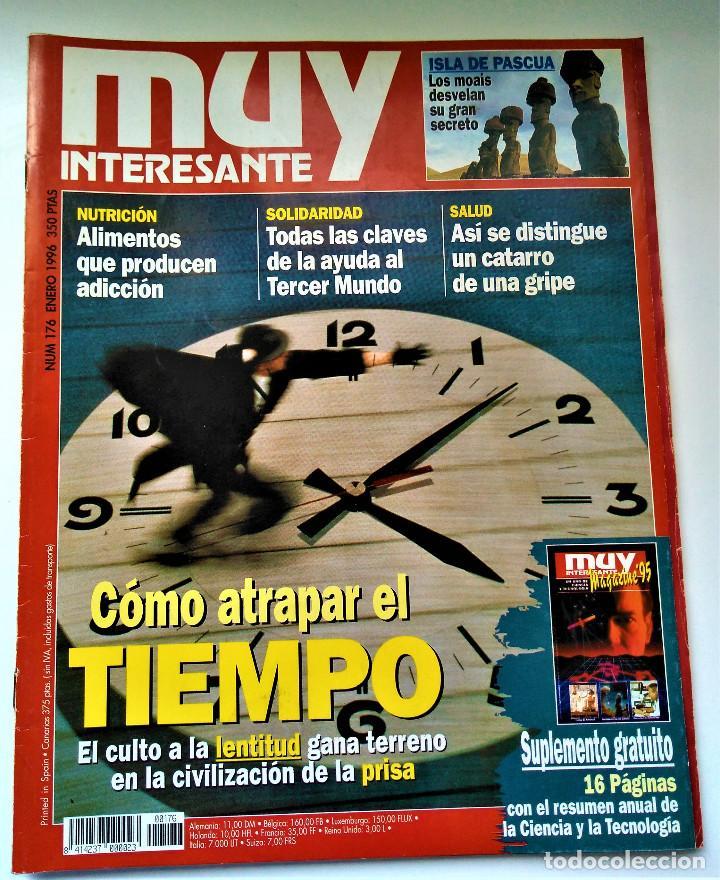 Coleccionismo de Revista Muy Interesante: REVISTA MUY INTERESANTE - 12 NÚMEROS - Foto 10 - 213083693