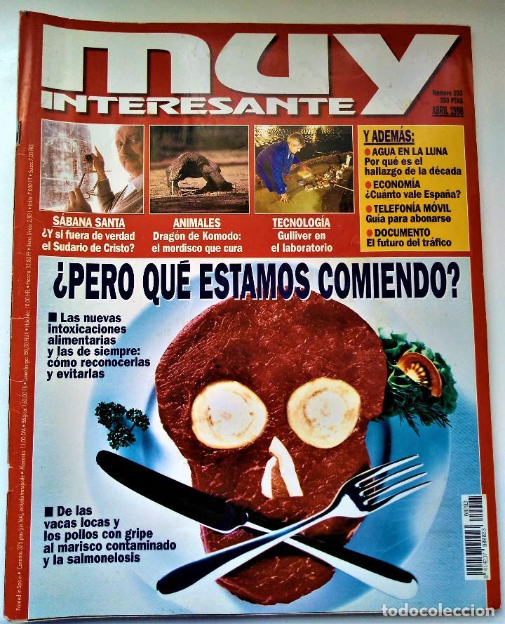 Coleccionismo de Revista Muy Interesante: REVISTA MUY INTERESANTE - 12 NÚMEROS - Foto 12 - 213083693