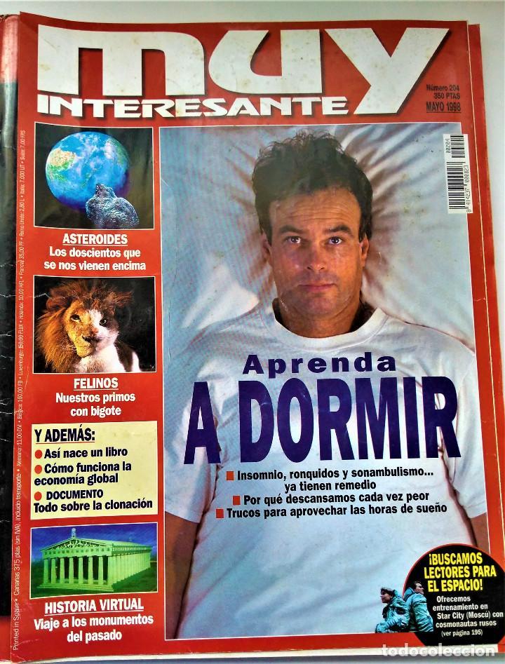 Coleccionismo de Revista Muy Interesante: REVISTA MUY INTERESANTE - 12 NÚMEROS - Foto 13 - 213083693