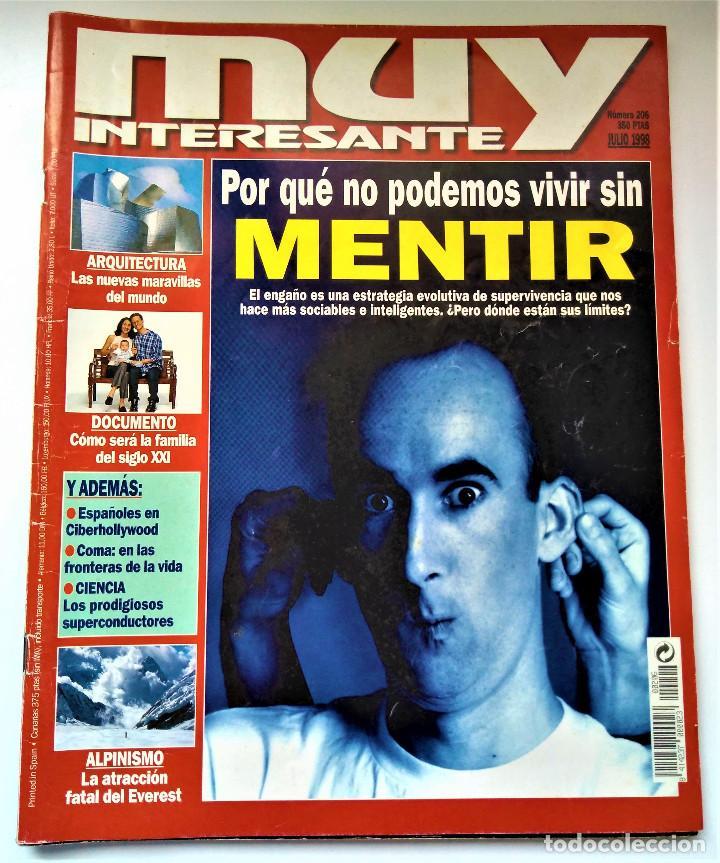 Coleccionismo de Revista Muy Interesante: REVISTA MUY INTERESANTE - 12 NÚMEROS - Foto 14 - 213083693