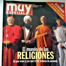 Coleccionismo de Revista Muy Interesante: REVISTA MUY INTERESANTE - ESPECIAL Nº 25 - EL MUNDO DE LAS RELIGIONES. Lote 213083888