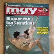 Coleccionismo de Revista Muy Interesante: REVISTA MUY INTERESANTE 356 ENERO 2011. Lote 214014332