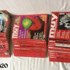 Coleccionismo de Revista Muy Interesante: LOTE 49 REVISTAS MUY INTERESANTE - CON MUCHOS ANUNCIOS PUBLICITARIOS. Lote 214343823