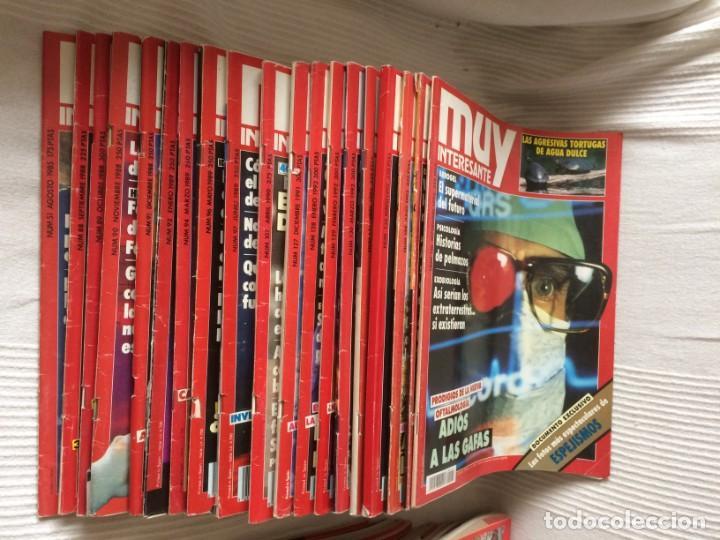 Coleccionismo de Revista Muy Interesante: LOTE 49 REVISTAS MUY INTERESANTE - CON MUCHOS ANUNCIOS PUBLICITARIOS - Foto 3 - 214343823