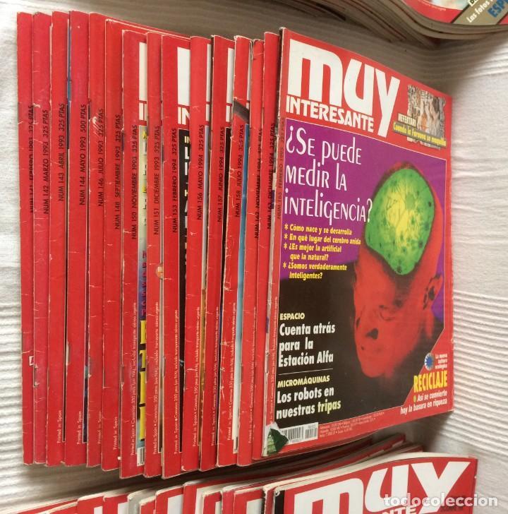 Coleccionismo de Revista Muy Interesante: LOTE 49 REVISTAS MUY INTERESANTE - CON MUCHOS ANUNCIOS PUBLICITARIOS - Foto 4 - 214343823
