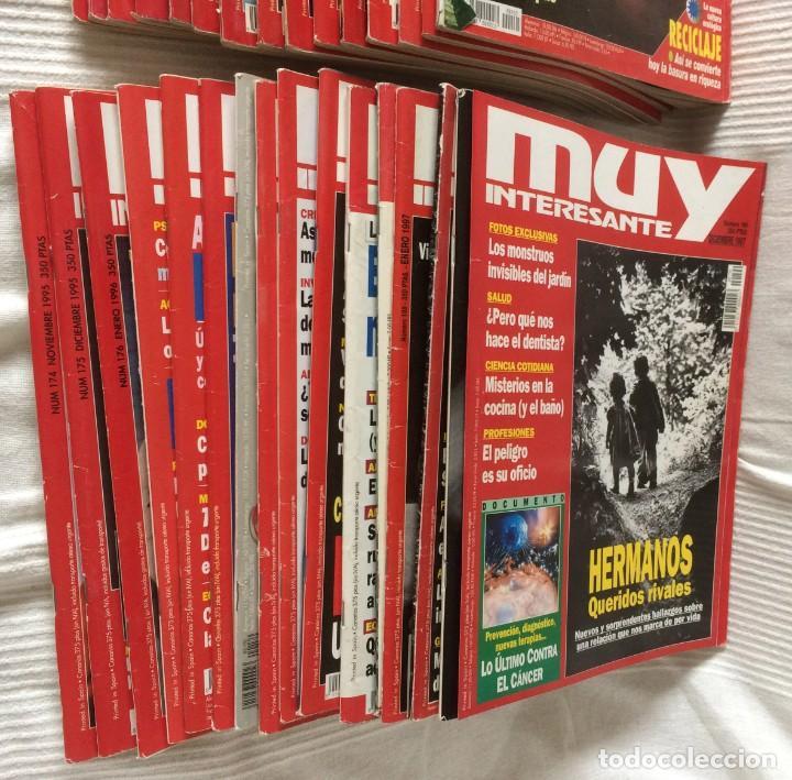 Coleccionismo de Revista Muy Interesante: LOTE 49 REVISTAS MUY INTERESANTE - CON MUCHOS ANUNCIOS PUBLICITARIOS - Foto 5 - 214343823