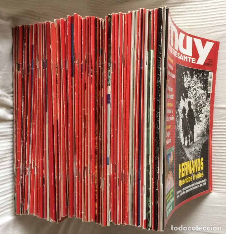 Coleccionismo de Revista Muy Interesante: LOTE 49 REVISTAS MUY INTERESANTE - CON MUCHOS ANUNCIOS PUBLICITARIOS - Foto 6 - 214343823