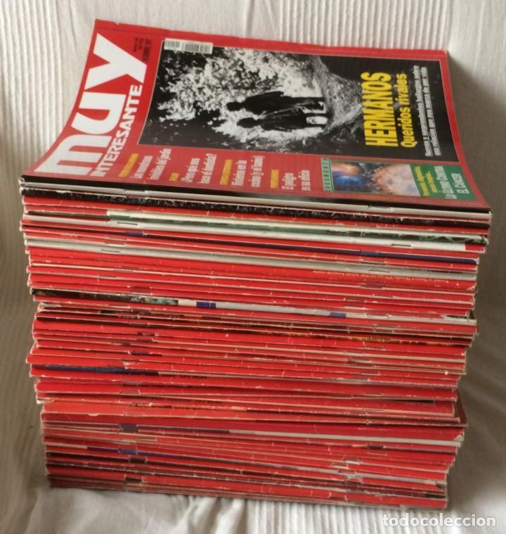 Coleccionismo de Revista Muy Interesante: LOTE 49 REVISTAS MUY INTERESANTE - CON MUCHOS ANUNCIOS PUBLICITARIOS - Foto 7 - 214343823