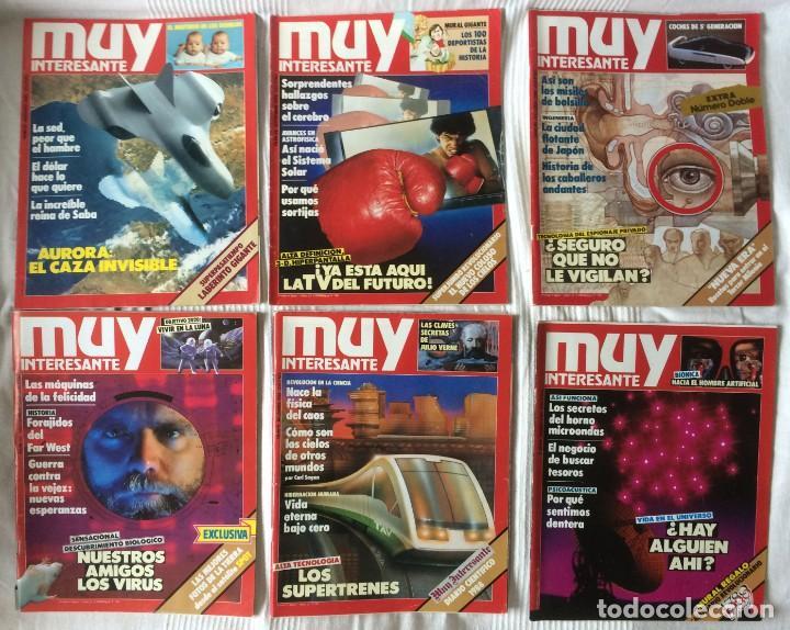 Coleccionismo de Revista Muy Interesante: LOTE 49 REVISTAS MUY INTERESANTE - CON MUCHOS ANUNCIOS PUBLICITARIOS - Foto 8 - 214343823