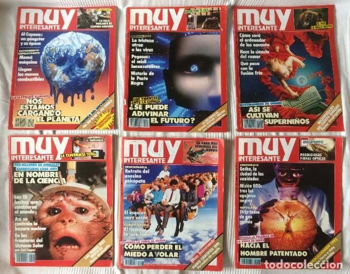 Coleccionismo de Revista Muy Interesante: LOTE 49 REVISTAS MUY INTERESANTE - CON MUCHOS ANUNCIOS PUBLICITARIOS - Foto 9 - 214343823