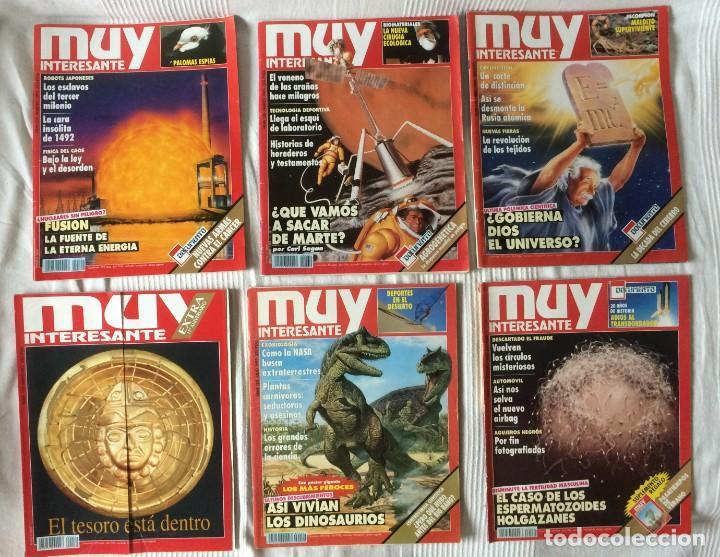 Coleccionismo de Revista Muy Interesante: LOTE 49 REVISTAS MUY INTERESANTE - CON MUCHOS ANUNCIOS PUBLICITARIOS - Foto 10 - 214343823