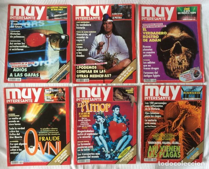 Coleccionismo de Revista Muy Interesante: LOTE 49 REVISTAS MUY INTERESANTE - CON MUCHOS ANUNCIOS PUBLICITARIOS - Foto 11 - 214343823