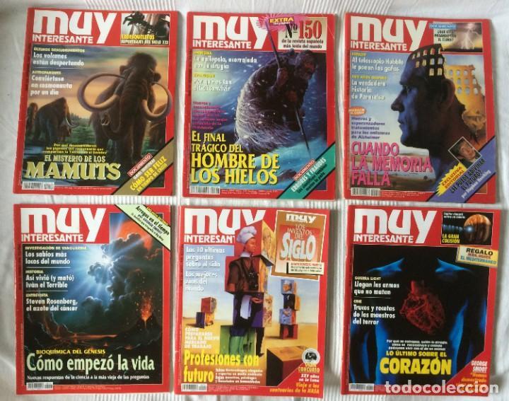 Coleccionismo de Revista Muy Interesante: LOTE 49 REVISTAS MUY INTERESANTE - CON MUCHOS ANUNCIOS PUBLICITARIOS - Foto 12 - 214343823