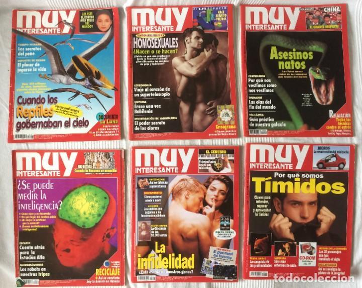 Coleccionismo de Revista Muy Interesante: LOTE 49 REVISTAS MUY INTERESANTE - CON MUCHOS ANUNCIOS PUBLICITARIOS - Foto 13 - 214343823