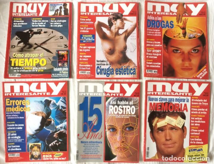 Coleccionismo de Revista Muy Interesante: LOTE 49 REVISTAS MUY INTERESANTE - CON MUCHOS ANUNCIOS PUBLICITARIOS - Foto 14 - 214343823