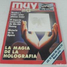 Collectionnisme de Magazine Muy Interesante: MUY INTERESANTE Nº 60 - MAYO 1986. Lote 216650738