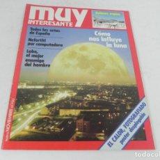 Coleccionismo de Revista Muy Interesante: MUY INTERESANTE Nº 6 - NOVIEMBRE 1981. Lote 216754673
