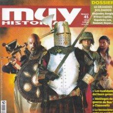 Coleccionismo de Revista Muy Interesante: REVISTA MUY HISTORIA: GUERREROS DE TODOS LOS TIEMPOS. Lote 217606091