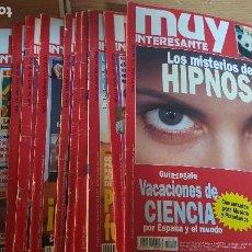 Coleccionismo de Revista Muy Interesante: 11 REVISTAS. Lote 217928430