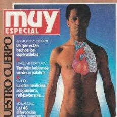Coleccionismo de Revista Muy Interesante: MUY INTERESANTE ESPECIAL .Nº 1.PRIMAVERA 1990.NUESTRO CUERPO. Lote 218502107