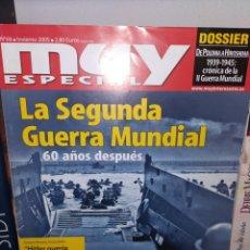 Coleccionismo de Revista Muy Interesante: REVISTA MUY ESPECIAL N°68. LA SEGUNDA GUERRA MUNDIAL 60 AÑOS DESPUES. Lote 218893038