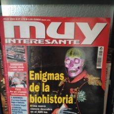 Coleccionismo de Revista Muy Interesante: REVISTA MUY INTERESANTE N°278 JULIO 2004. ENIGMAS DE LA BIOHISTORIA. Lote 218893200