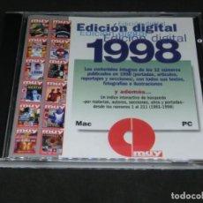 Colecionismo da Revista Muy Interesante: EDICION DIGITAL REVISTA MUY INTERESANTE 1998 - INDICE INTERACTIVO DE BÚSQUEDA 1981 ENVIO GRATUITO. Lote 218893421