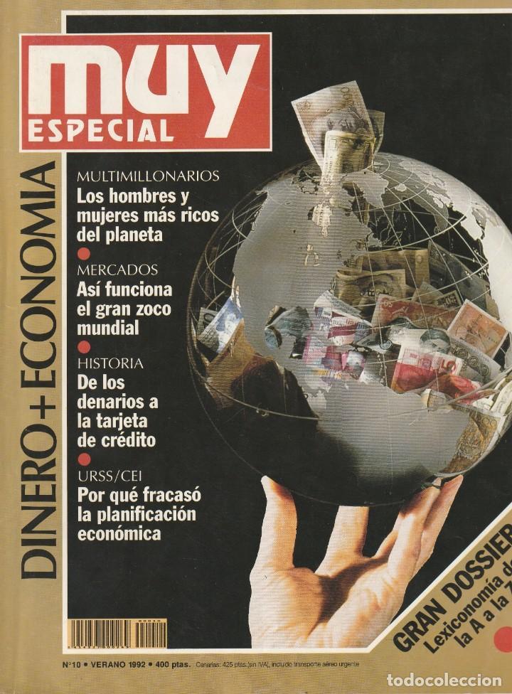 MUY INTERESANTE ESPECIAL DINERO + ECONOMIA. Nº 10 VERANO 1992 (Coleccionismo - Revistas y Periódicos Modernos (a partir de 1.940) - Revista Muy Interesante)