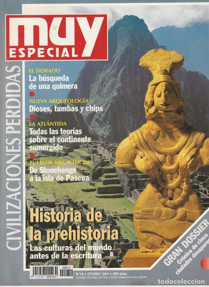 MUY INTERESANTE ESPECIAL CIVILIZACIONES PERDIDAS.Nº19.OTOÑO 1994 (Coleccionismo - Revistas y Periódicos Modernos (a partir de 1.940) - Revista Muy Interesante)