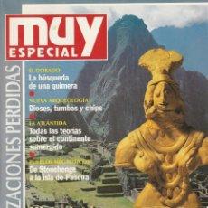 Coleccionismo de Revista Muy Interesante: MUY INTERESANTE ESPECIAL CIVILIZACIONES PERDIDAS.Nº19.OTOÑO 1994. Lote 219382426