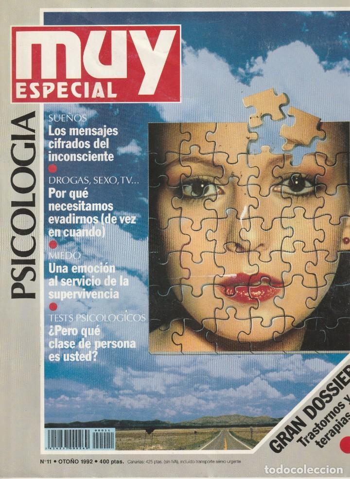 MUY INTERESANTE ESPECIAL PSICOLOGIA Nº 11.OTOÑO 1992 (Coleccionismo - Revistas y Periódicos Modernos (a partir de 1.940) - Revista Muy Interesante)