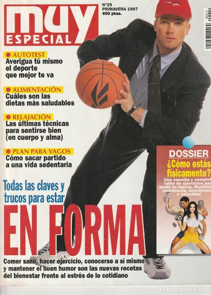 MUY INTERESANTE ESPECIAL EN FORMA Nº 29 PRIMAVERA 1997 (Coleccionismo - Revistas y Periódicos Modernos (a partir de 1.940) - Revista Muy Interesante)