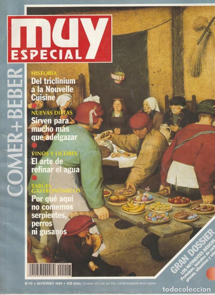 MUY INTERESANTE ESPECIAL COMER + BEBER.Nº16 INVIERNO 1994 (Coleccionismo - Revistas y Periódicos Modernos (a partir de 1.940) - Revista Muy Interesante)