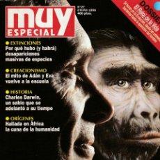 Coleccionismo de Revista Muy Interesante: MUY INTERESANTE ESPECIAL EVOLUCION. 27 OTOÑO 1996.DOSSIER EL RELOJ DE LA VIDA. Lote 219386140