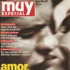 Coleccionismo de Revista Muy Interesante: MUY INTERESANTE ESPECIAL AMOR,SEXO Y PAREJA.Nº34 MARZO/ABRIL 1998. Lote 219386238