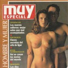 Coleccionismo de Revista Muy Interesante: MUY INTERESANTE ESPECIAL HOMBRE,MUJER.Nº17.PRIMAVERA 1994. Lote 219386328