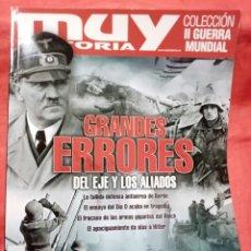 Colecionismo da Revista Muy Interesante: MUY HISTORIA COL. II GUERRA MUNDIAL - GRANDES ERRORES DEL EJE Y LOS ALIADOS. Lote 219632070
