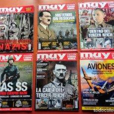 Colecionismo da Revista Muy Interesante: 6 REVISTAS MUY INTERESANTE SOBRE LA SEGUNDA GUERRA MUNDIAL, HITLER Y LOS NAZIS.. Lote 219755720
