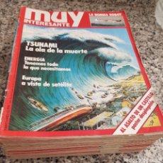 Coleccionismo de Revista Muy Interesante: LOTE 32 REVISTAS MUY INTERESANTE - ENTRE LOS NÚMEROS 1 Y 117. Lote 219883832