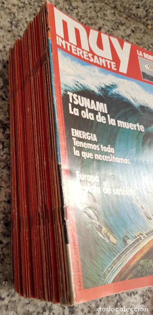 Coleccionismo de Revista Muy Interesante: LOTE 32 REVISTAS MUY INTERESANTE - ENTRE LOS NÚMEROS 1 Y 117 - Foto 2 - 219883832